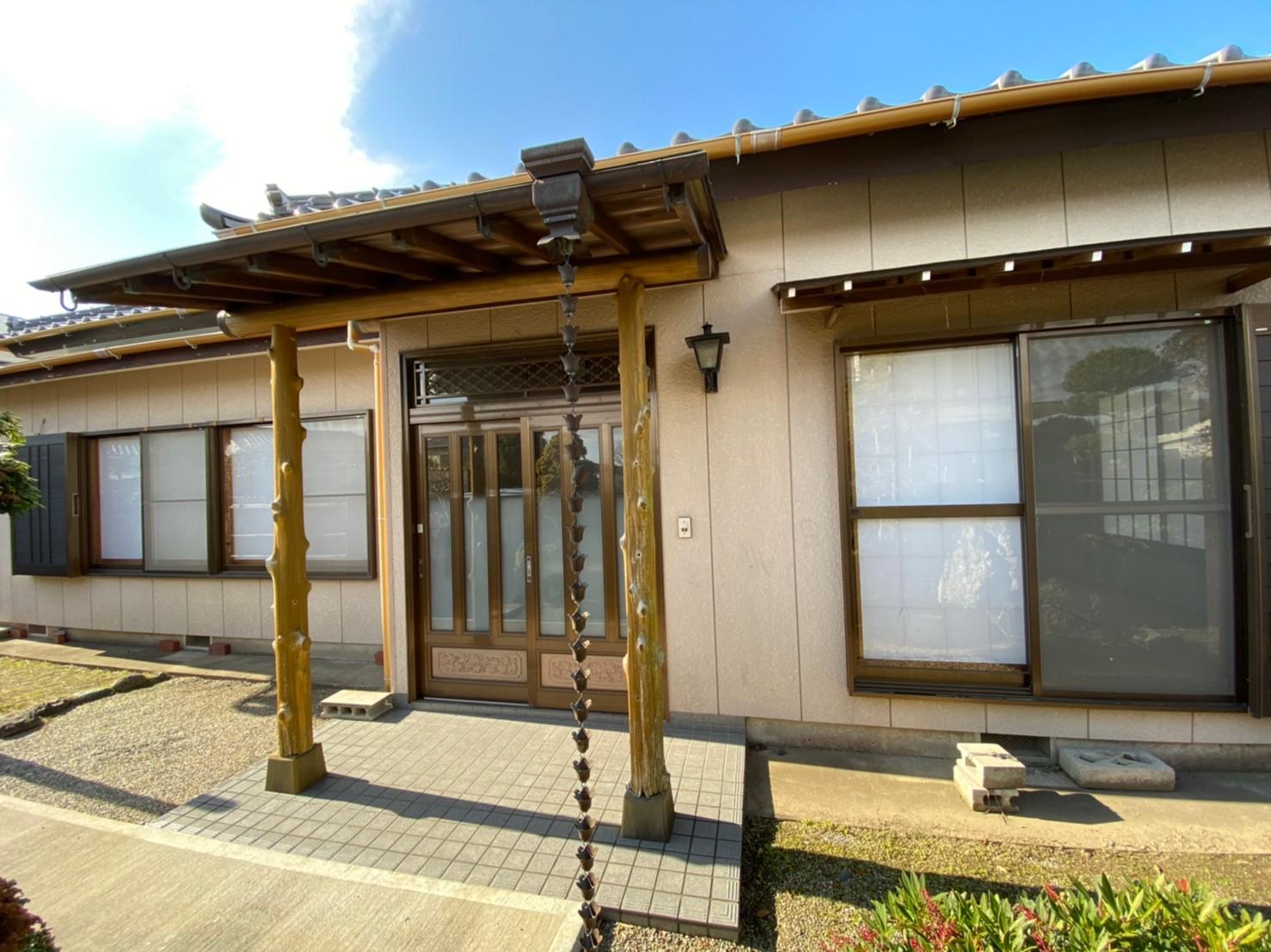 館山城下の贅沢な純和風平家住宅