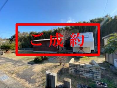 【南房総・館山市】103坪の広い土地、平屋の戸建てとトレーラーハウス付別荘